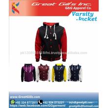 High quality jacket sublimation varsity jacket