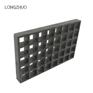 Grated Surface Anti Slip Fiberglass Dock Decking Grating
