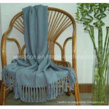 Tiro de bambú, manta de bambú, fibra de bambú de lanzar Bb-09122
