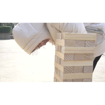 Kids Giant Tumbling Timbers yard game