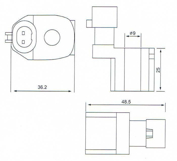 Dimension of BB11014014 Solenoid Coil: