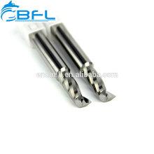 Herramientas de corte de acrílico de una sola cuchilla, molino de aluminio de una sola flauta