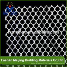 tissu de maille de polyester 4x4mm de vente chaude pour faire la mosaïque