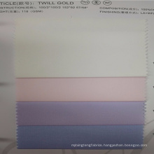 Hot selling pink and check cotton shirt fabric in stock