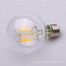 Bombilla LED de alto brillo E27 4W G125 Light Soft Filament