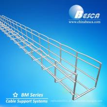 Bandeja de cabo de aço inoxidável da cesta de fio SS316 / bandeja de cabo rede de arame