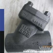 ANSI Forged Steel A105n/Lf2/F11/F304/F316 Y Strainer