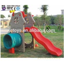 JQC3428 Пластмассовая детская площадка / Детская комбинированная горка / Парк аттракционов
