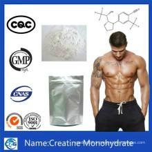 99% Pureté Suppléments de nutrition sportive CAS 6020-87-7 Monohydrate de créatine