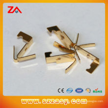 gold plating brass stamping parts