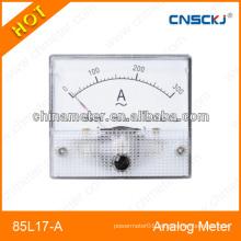 68*38 mm size Ammeter gauge analog dc ammeter