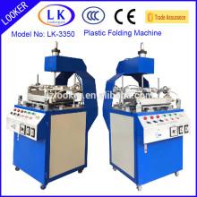 new design Guagnzhou semi-auto blister edge folding machine