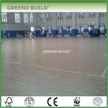 Oak wooden flooring for shcool sports hall