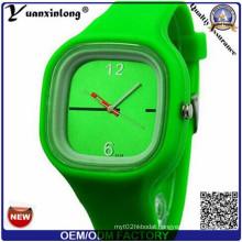Yxl-981 New Womage Pattern Classic Watch Fashion Silicone Rubber Strap Lady Jelly Quartz Women Fashion Gel Dress Watches