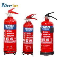 Extincteur d'incendie approuvé par UL / extincteur d'incendie de poudre chimique standard d'UL