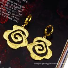 Secret Garden Jóias 14k Gold Color Rose Set Jóias (60577)
