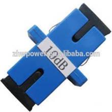 Adaptador de fibra óptica SC / FC / ST / LC / MU / MTRJ, conector óptico, adaptador 5db-30db / atenuador de fibra óptica ajustável / plug fábrica
