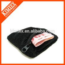 Terry cotton cheap custom wholesale wrist zipper sweatbands
