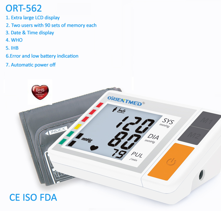 Ort562 Blood Pressure Monitor