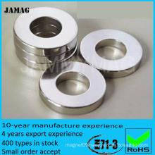 N35 neodymium ring industrial ndfeb magnets