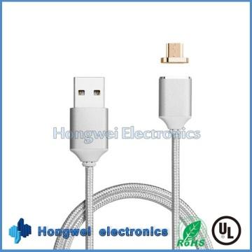 Android Micro магнитный адаптер Зарядка USB-кабель для смартфона планшета