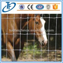 Usine d'approvisionnement clôture de ferme de haute qualité / clôture de terrain et clôture de bétail / clôture de ferme de chevaux