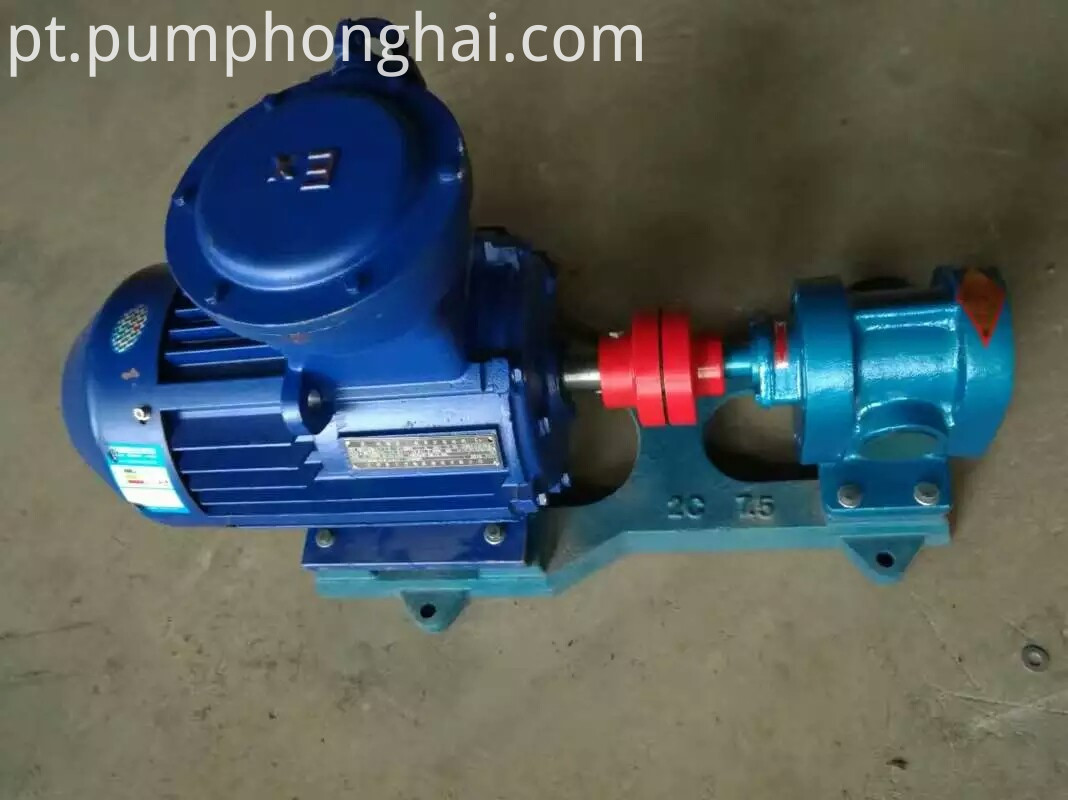 gear lube oil transfer pump 3