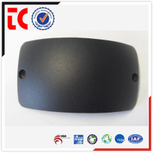 Black painted custom made camera top cover die casting