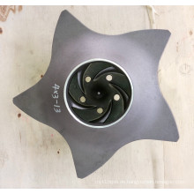 Rostfreier Stahl / legierter Stahl Durco Pumpenlaufrad 4 * 3-13