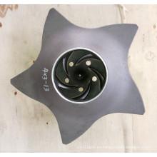 Impulsor de la bomba de Durco del acero inoxidable / de la aleación de acero 4 * 3-13