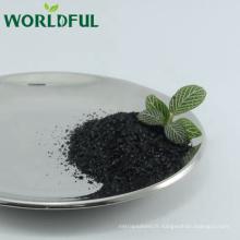 Flocons brillants de Fulvate organique de potassium d'engrais organique avec l'acide fulvic 15% min et l'acide humique: 60% -70% min