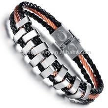 2015 nouvelle bijoux coréens bijoux en gros mode tendance de la nouvelle main en cuir tissé cuir corde main PH843
