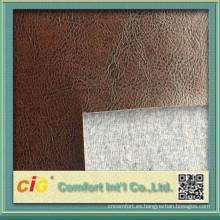 2015 alta calidad semi cuero para el sofá