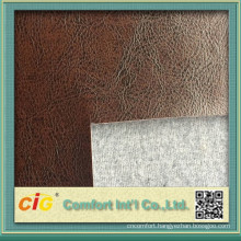2015 High quality semi pu leather for sofa