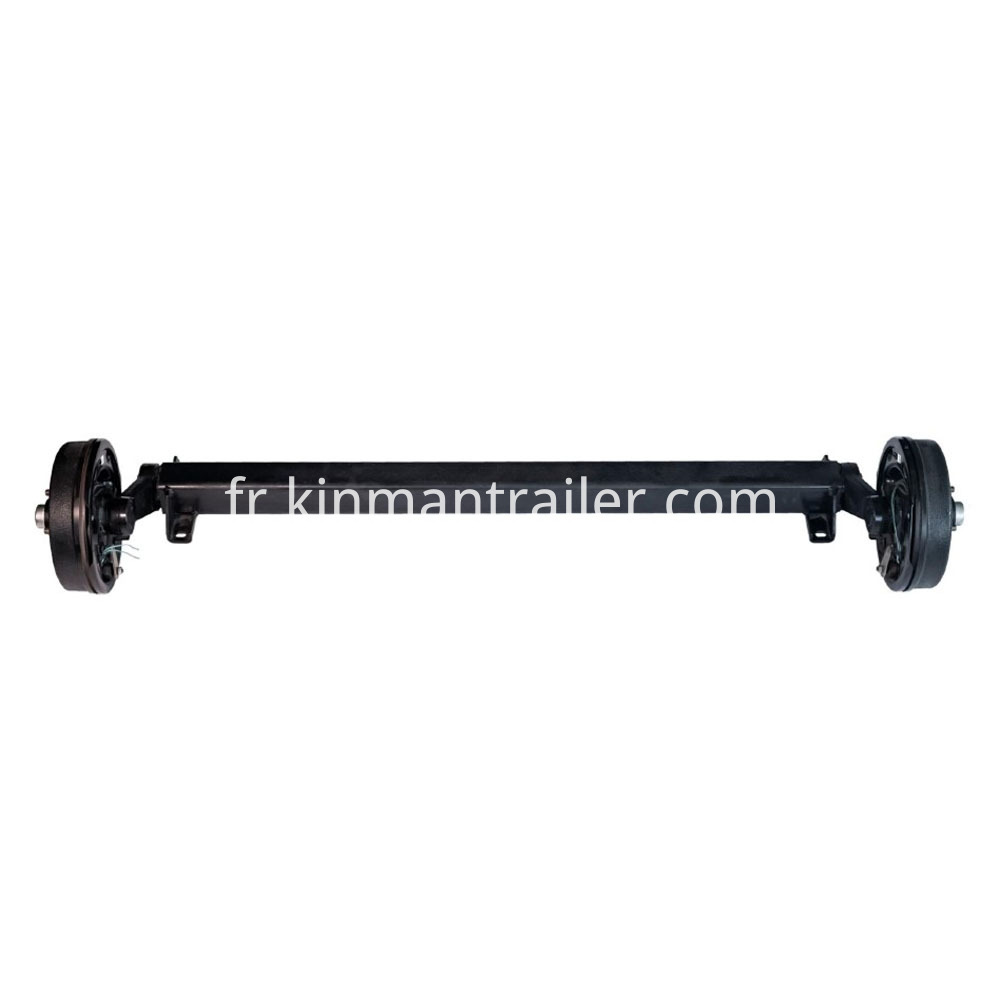 Trailer Rubber Torsion Axle With Electrical Brake