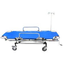 Emergency Hospital Foldable Medical Aluminum Rescue Bed
