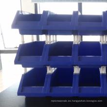 Venta caliente Combinative Plastic Bins para la industria de almacén