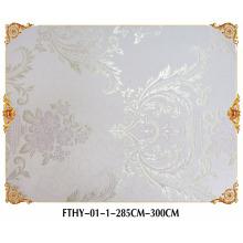 Revêtement mural sans couture Feitex, papier peint de mode de mur, papier peint de jacquard de haute qualité