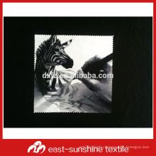 personalized bulk printed microfiber optical glass cloth