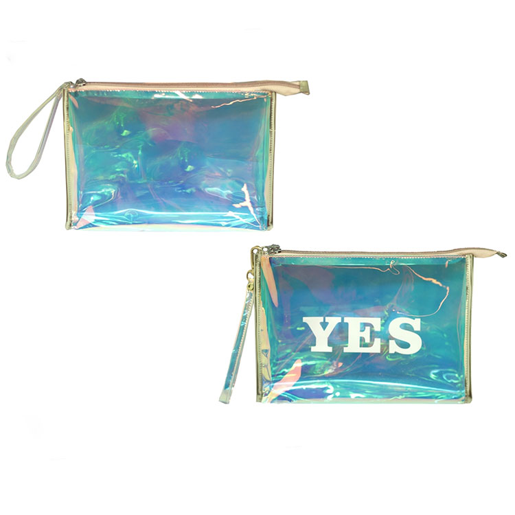 Holographic Cosmetic Bag