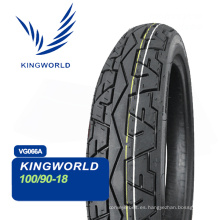Neumático Tubeless de motocicleta 100 / 90-17 100 / 90-18 90 / 90-12 80 / 90-17