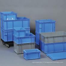 Conteneur en plastique empilable