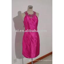 YA0034 2015 neue Art- und Weisehalter-rosafarbene Knielänge kurze Abschlussball-Kleider