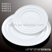 China white double line series ceramic crockery