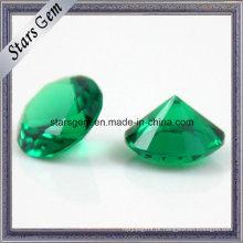 Nano verde sintético / forma redonda Spinel / pedra preciosa resistente ao calor