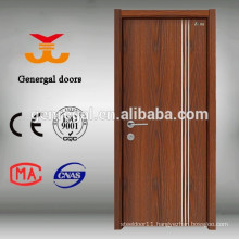 Eco friendly melamine finish simple designs Bedroom Door