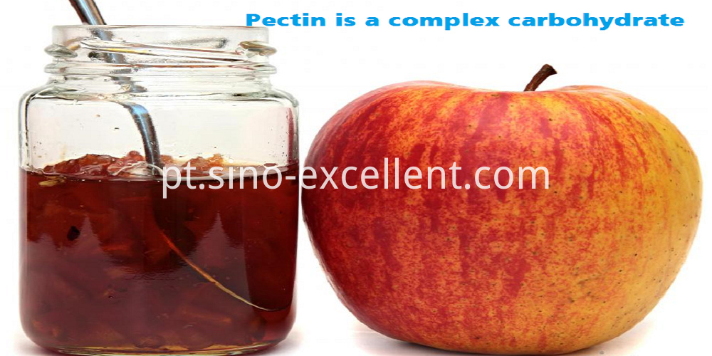 Pectin is a complex carbohydrate