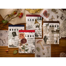 Japanese Paper Material Adhesive Sticker Book