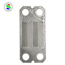S7A Dichtungswärmetauscher 0,6 mm Hastelloy Platte