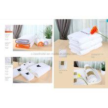 Наборы белых гостиничных полотенец из 100% хлопка